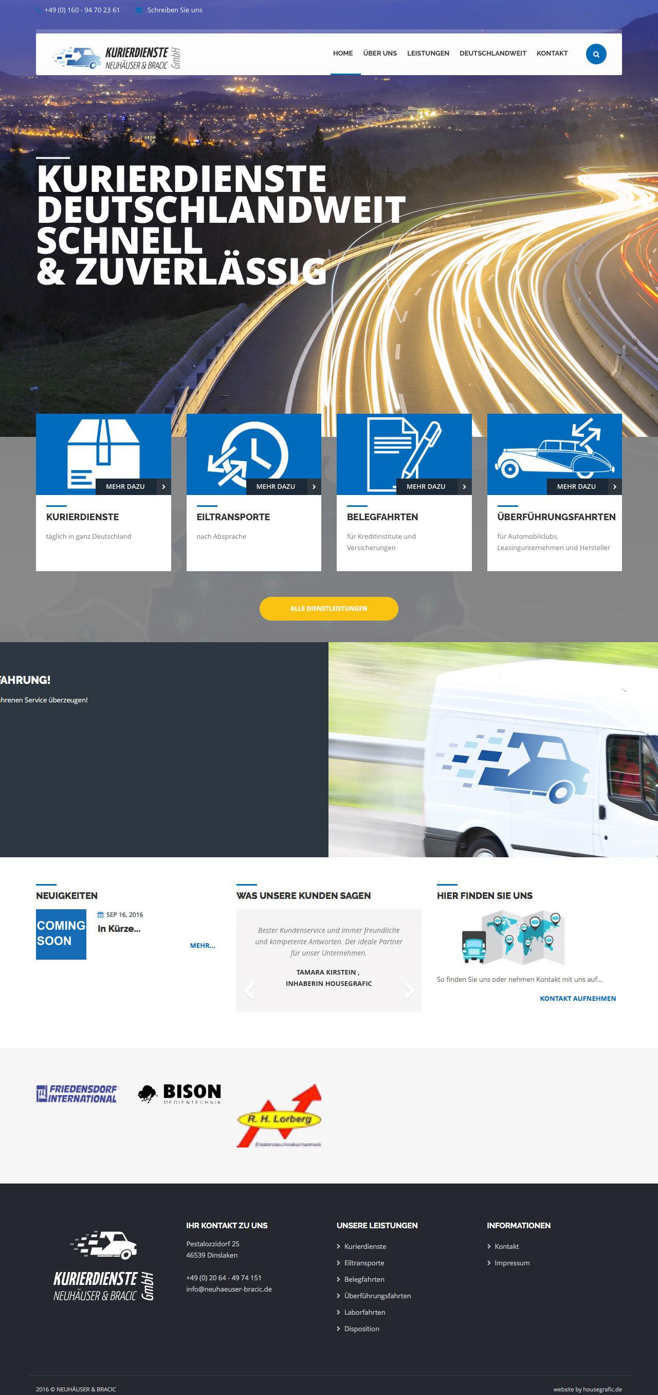 Relaunch für Neuhäuser & Bracic GmbH