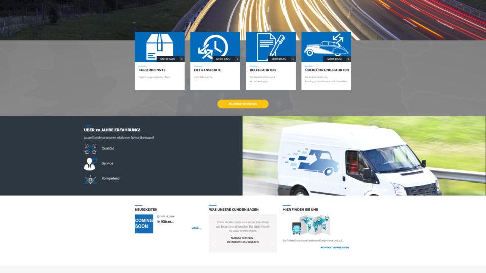 Neuhäuser und Bracic GmbH Internetpräsenz