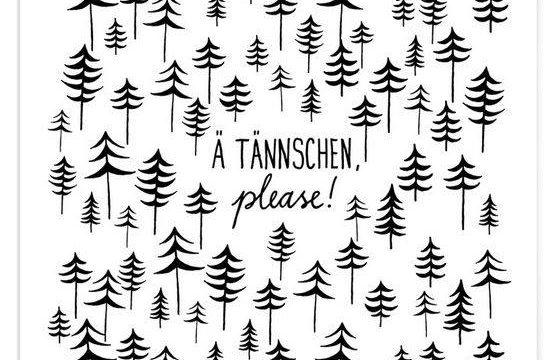 Ä TÄNNSCHEN, please!