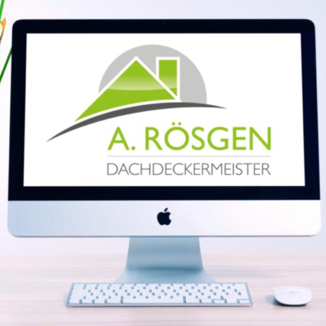 Dachdeckermeister A. Rösgen