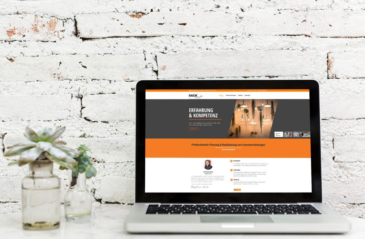 Relaunch von Sack Design