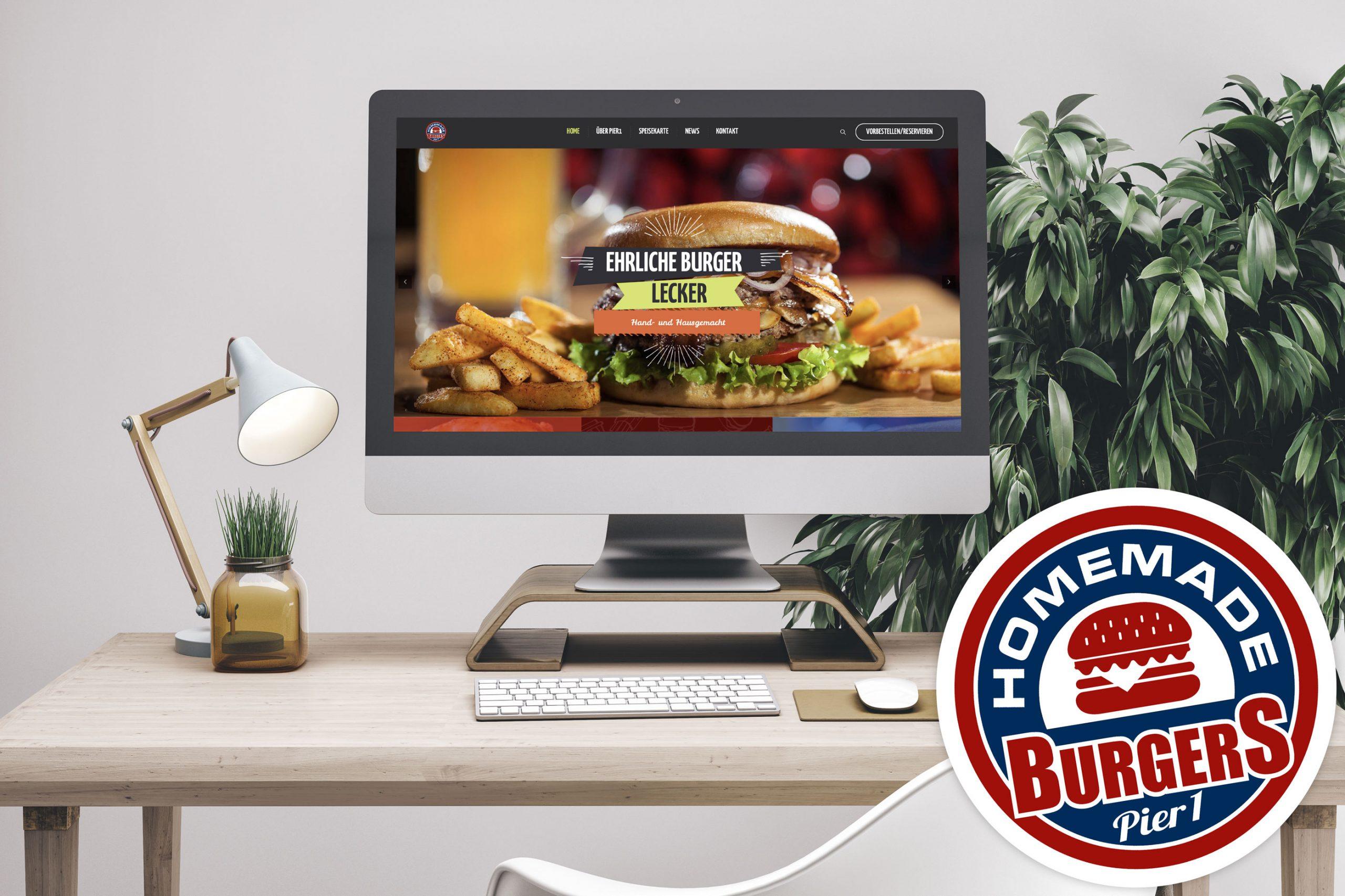 Be happy, eat burger!