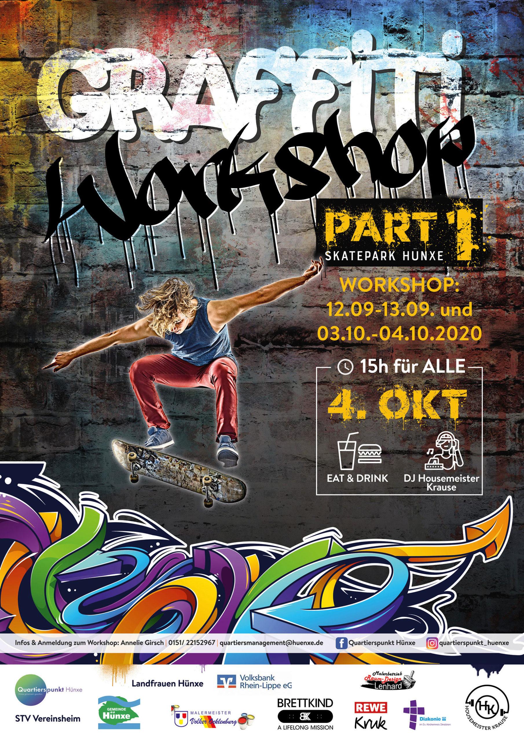 Graffiti Workshop – Part 1